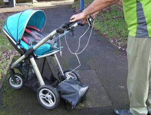 Pushchair electric motor
